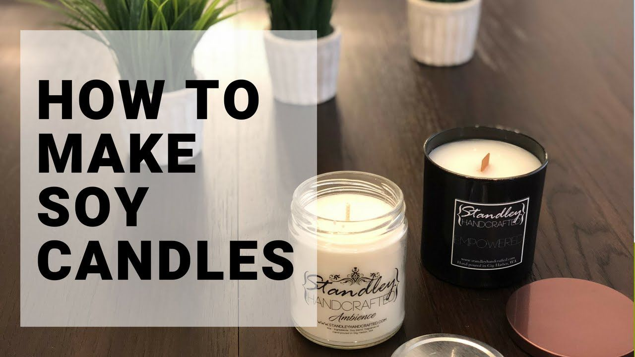 Diy how to make soy candles with gb 464 soy candles