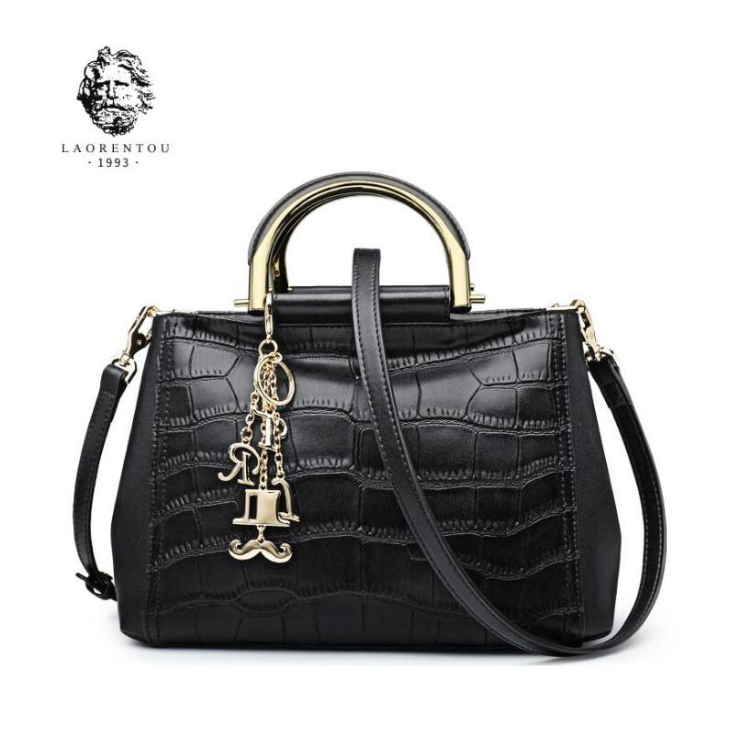 9be29186a13a LAORENTOU 2018 New women leather bag luxury handbags women bags designer  Handbags   Crossbody bags shoulder