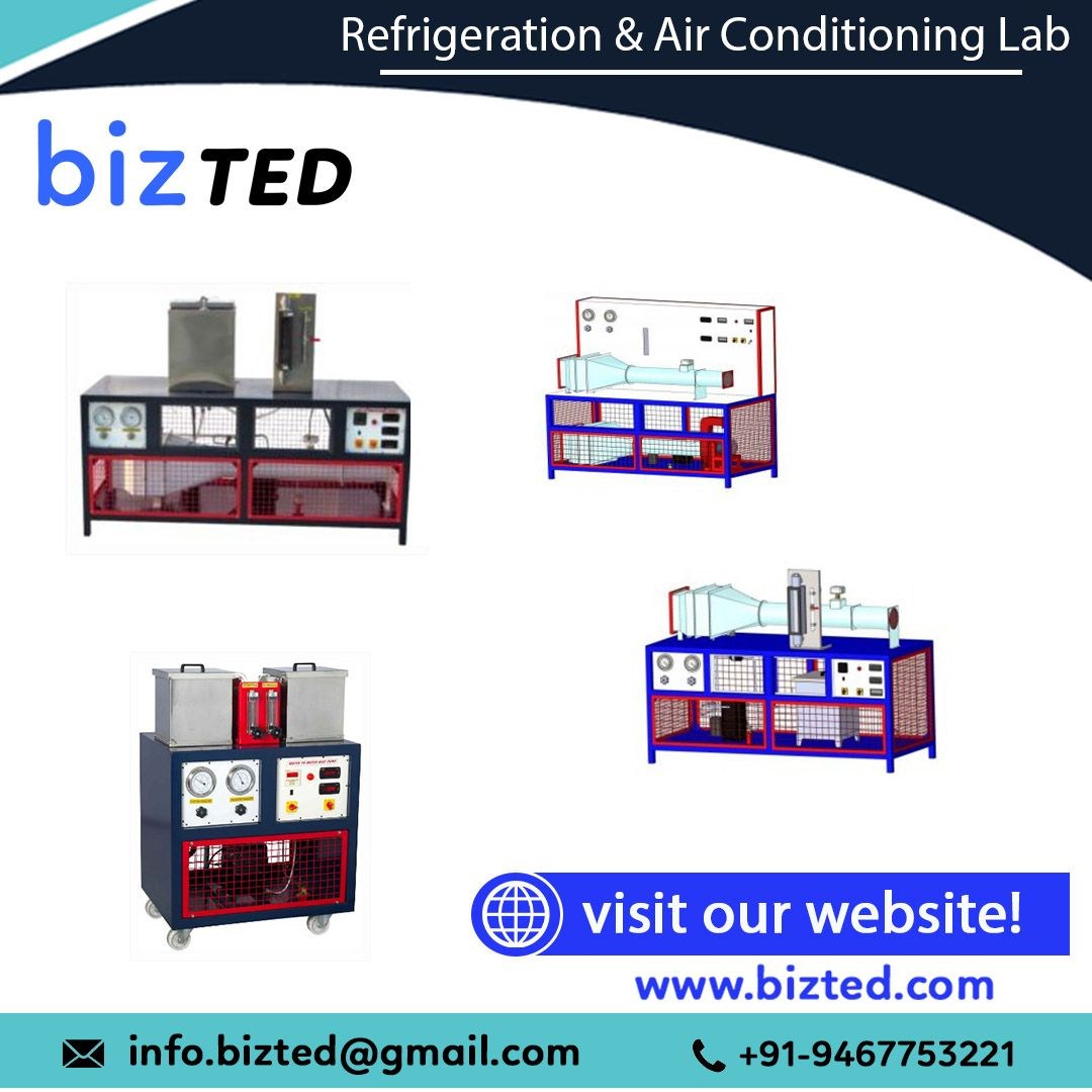 Refrigeration And Air Conditioning Lab in 2020