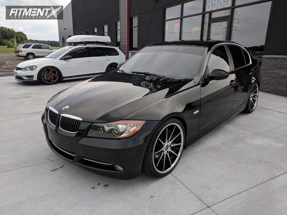 1 2007 335i Bmw Sinister Diesel Coilovers Rohana Rc10 Machined