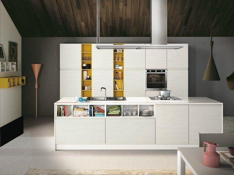 厨房 JEY by CREO Kitchens by Lube 厨房设计/Kitchen design - ernestomeda barrique