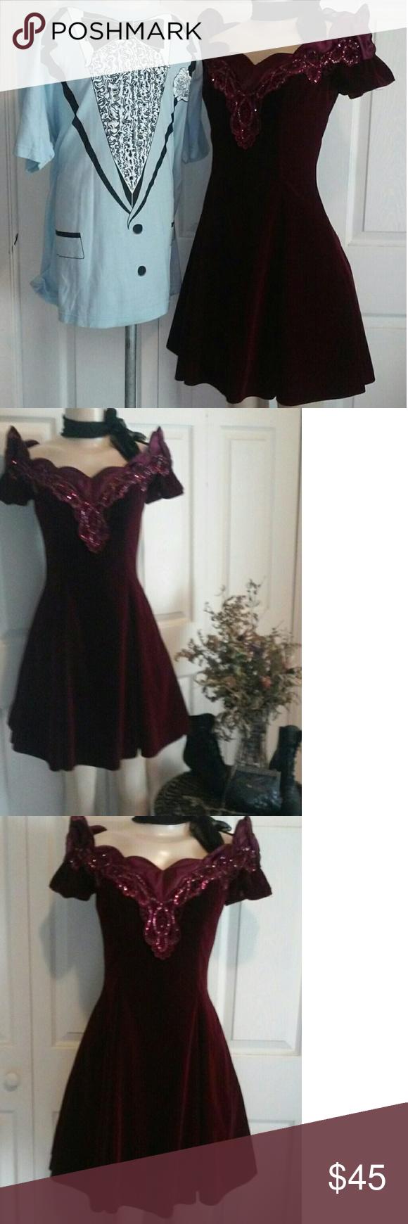 Us velvet dress little shop of style letus go shopping