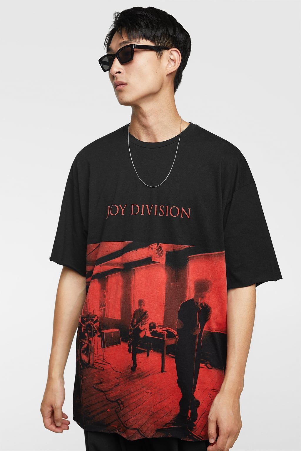 1c13a6395b0084 Image 2 of JOY DIVISION™ T-SHIRT from Zara