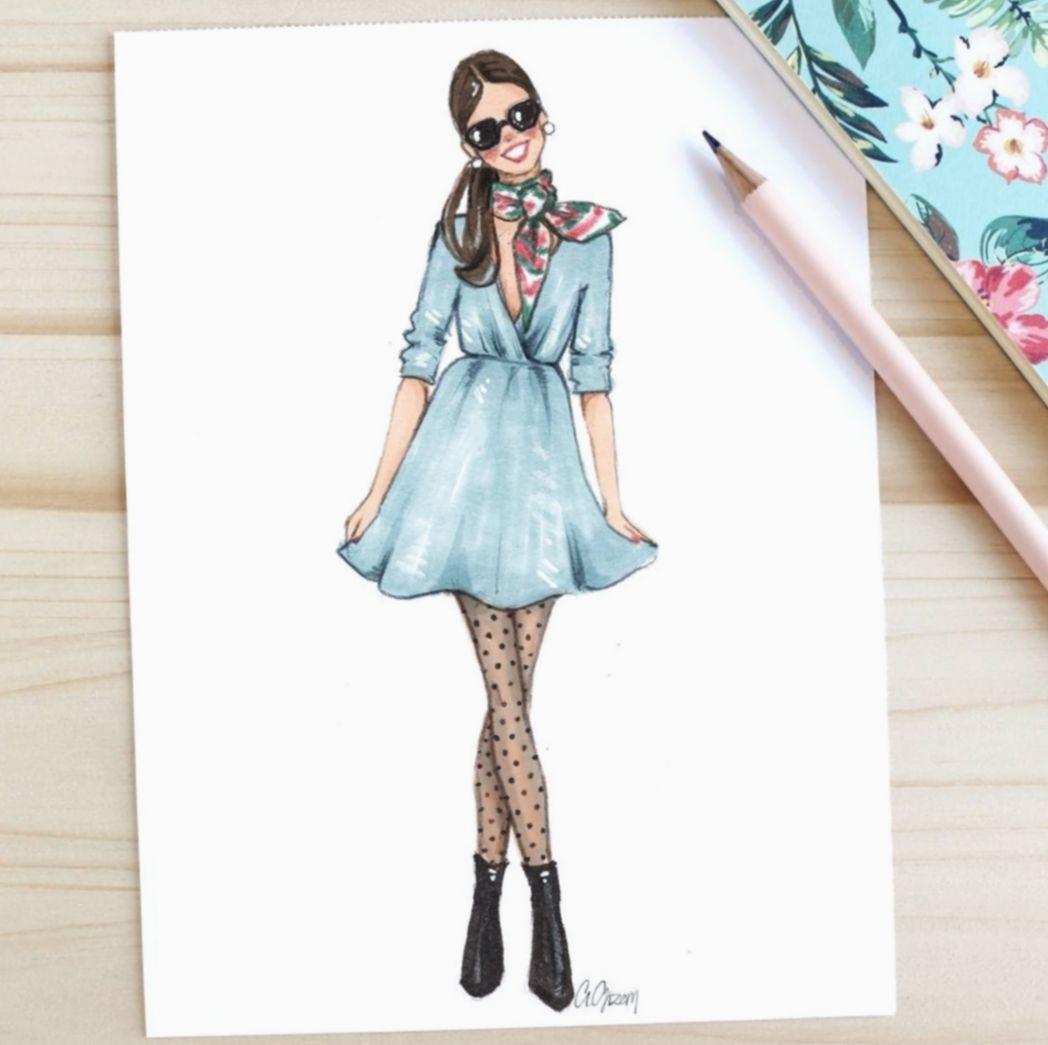 ✔ Fashion Art Illustration People #fitness #uae #bollywood