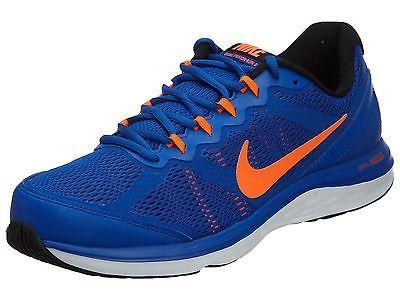 8ad0135c5aaf Nike Dual Fusion Run 3 Msl Mens 653619-403 Blue Orange Running Shoes Size 10