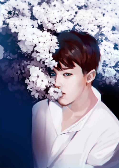Jimin Fanart Korean drama and kpop and korea stuff