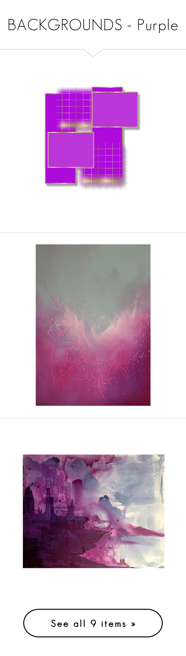 """""""BACKGROUNDS - Purple"""" by for-the-art-of-fashion ❤ liked on Polyvore featuring home, home decor, wall art, backgrounds, art, fillers, acrylic home decor, abstract acrylic painting, abstract painting and acrylic painting"""