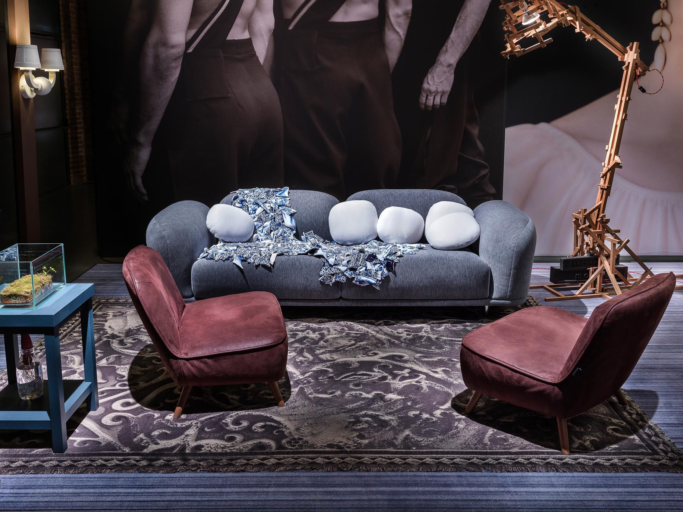 Chaise Sofa Cloud sofa by Marcel Wanders through Moooi