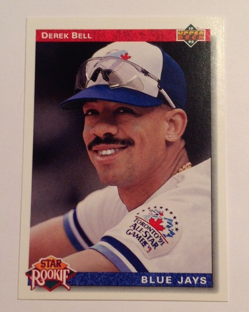 1992 Upper Deck Derek Bell Star Rookie Blue Jays 26