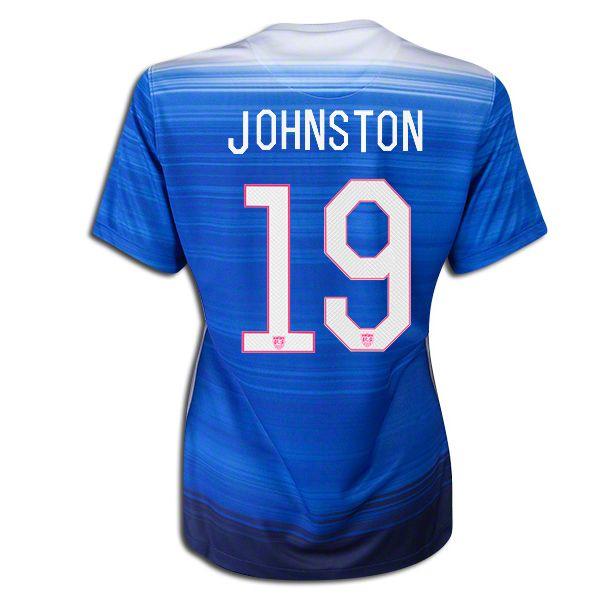 58d1b1d35 2015 16 USA ( 19) Julie Johnston Away Women s Soccer Jersey