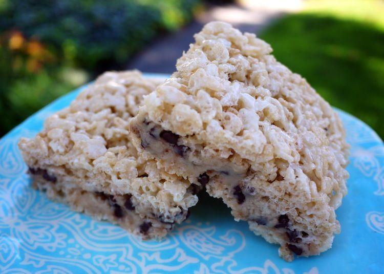 Cookie dough crispy treats crispy treats cookie dough