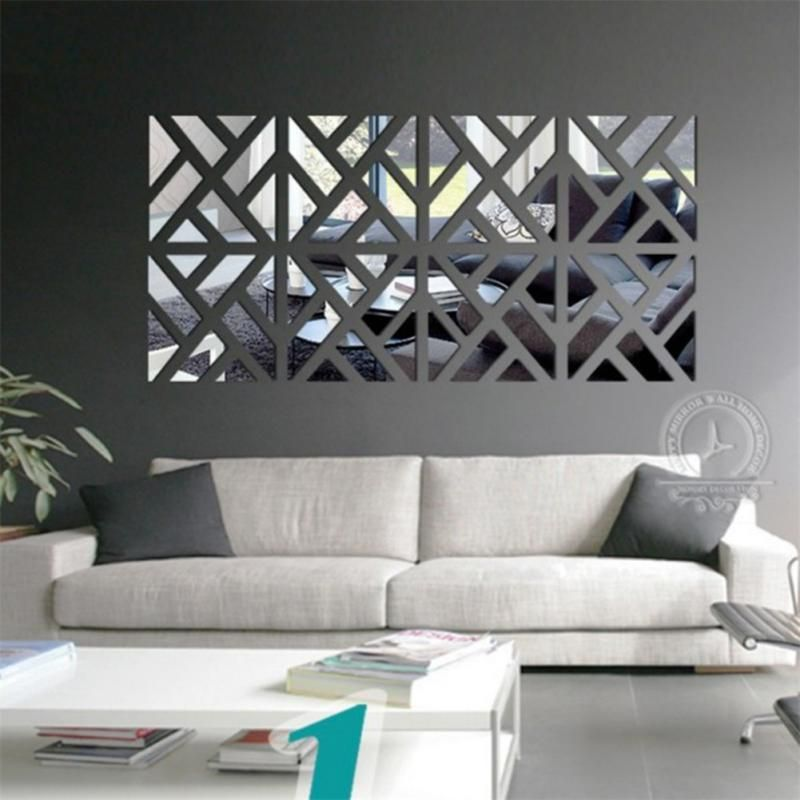 Cheap Decorative Mirror Wall Stickers Buy Quality Mirror Funiture Directly From China M Wall Stickers Living Room Wall Stickers Home Decor Wall Decor Stickers #wall #decoration #stickers #for #living #room