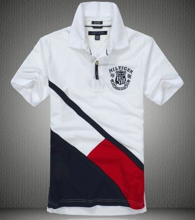 Tommy Hilfiger Men Polo 13 Camisas Tommy Hilfiger Camisa Polo Hombres Camisetas Polo Mujer
