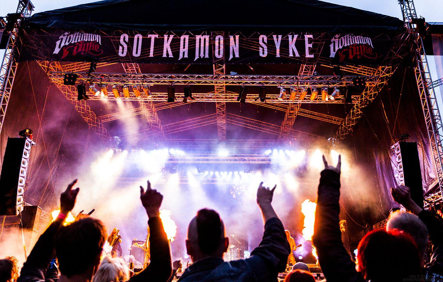 Amorphis, Sotkamon Syke 2013