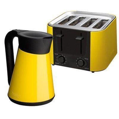Daytona Kettle And Toaster Set Colour Yellow Http Www Amazon Co Uk Dp B00vcw318i Ref Cm Sw R Pi Awdl Tzokw Kettle And Toaster Kettle And Toaster Set Kettle