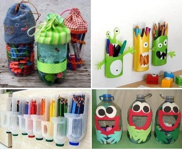 Reciclar botellas de pl stico 73 ideas originales for Casas de plastico para ninos
