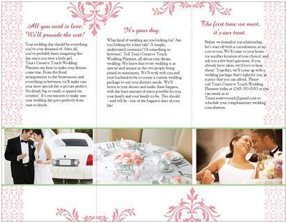 wedding brochure - Cerca con Google | Wedding and Events Brochures ...