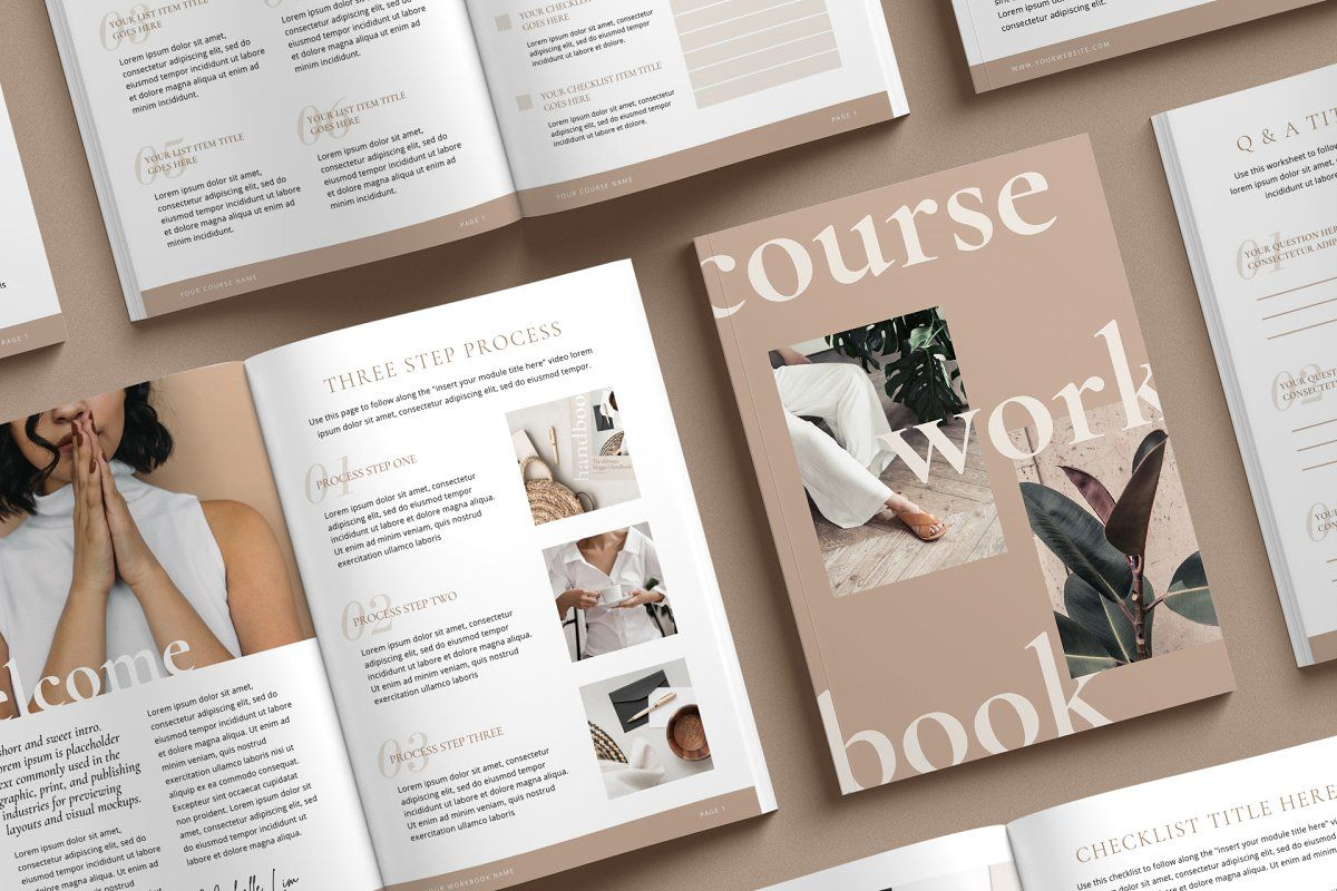 WorkBook Creator for Coaches CANVA in 2020 Workbook