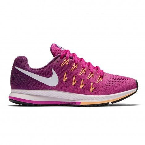 new product 37542 d6c6d Nike Air Zoom Pegasus 33 hardloopschoenen dames fire pink De Wit Schijndel