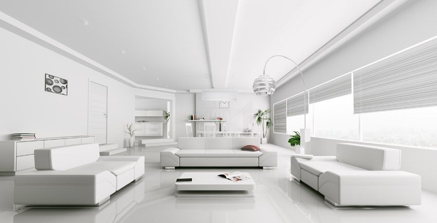 60 Stunning Modern Living Room Ideas Photos Modern White