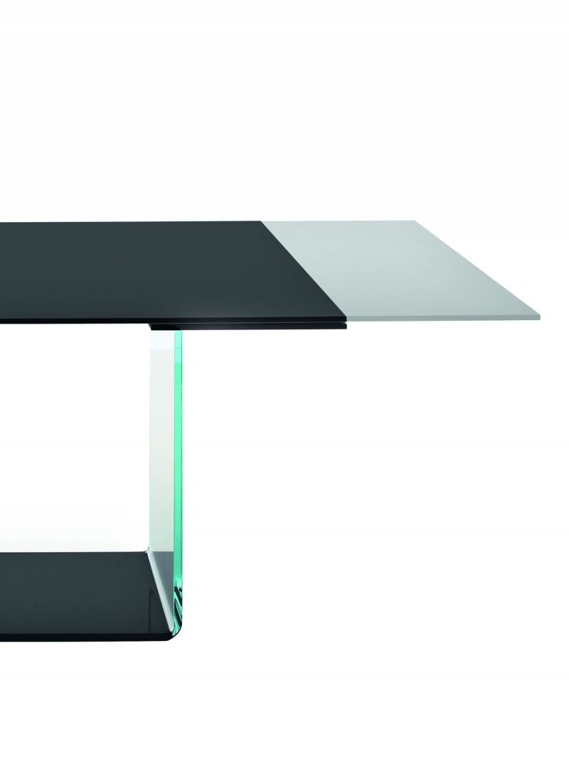 Extendable Glass Dining Table Detail On The Valenciasovet Amusing Italian Glass Dining Room Tables Decorating Inspiration