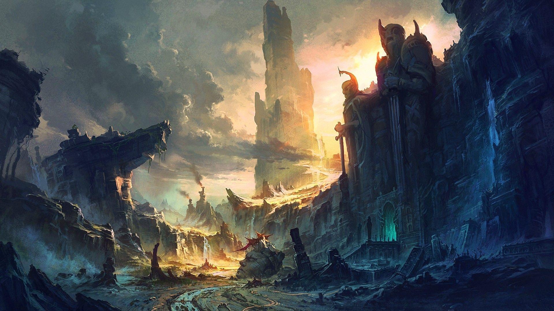 Fantasy Artwork Background Hd 2 | drawing 1 | Pinterest | Artworks ...