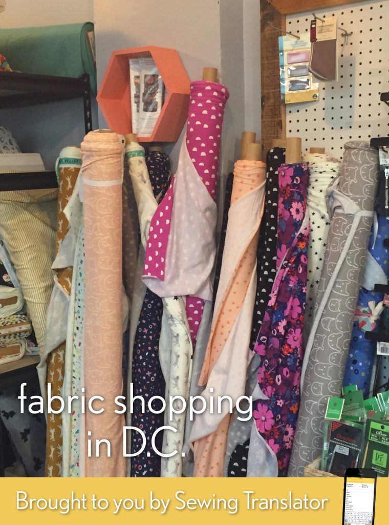 Were Continuing Our Fabric Shopping Series Visiting Cities From All Over The World Today Were Bringing You A Fabric Shopping Guide For The Washington
