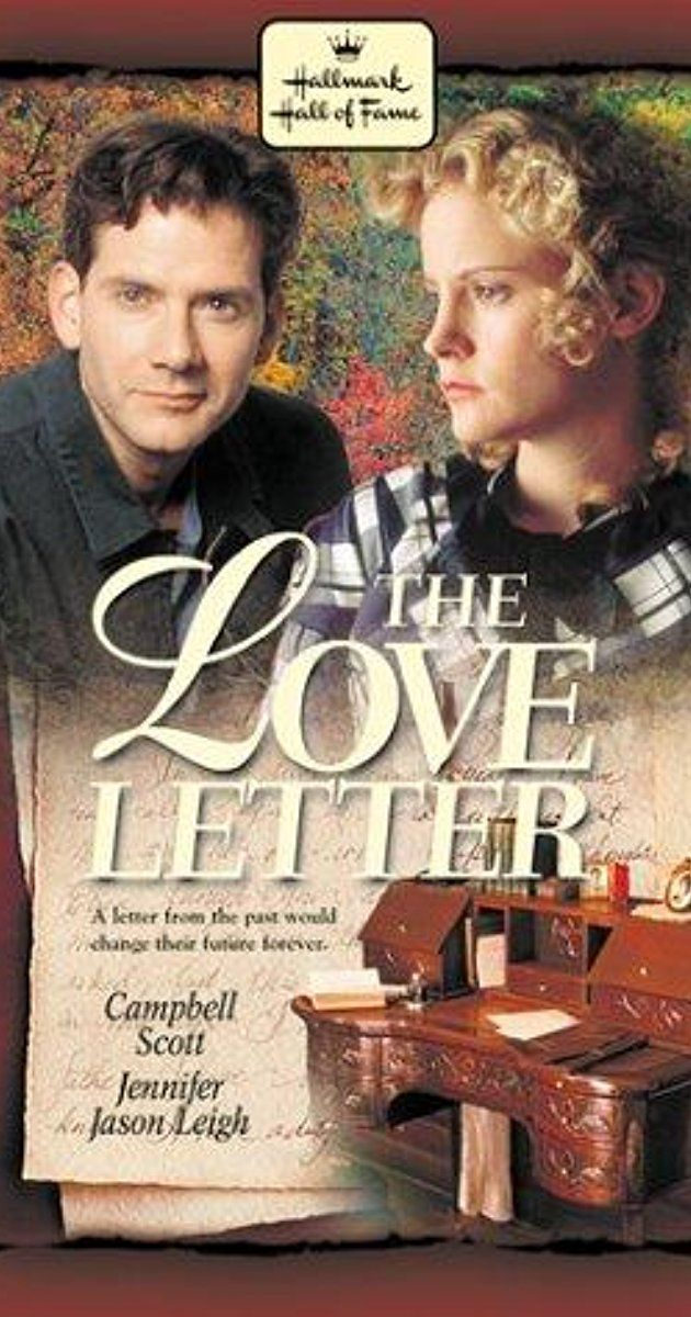 The Love Letter (1998) (With images) Hallmark movies