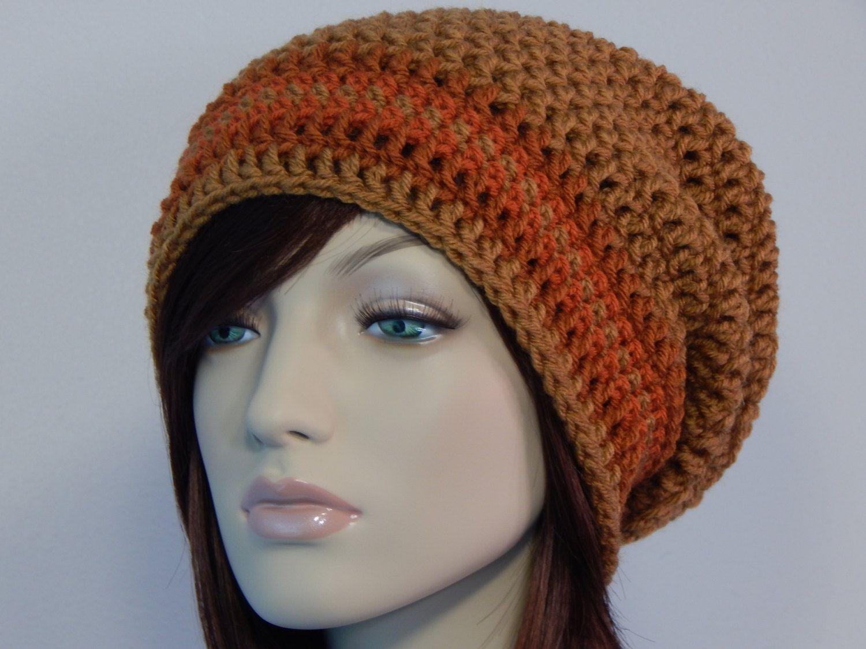 084d7deaaa8 Honey Rust Terracotta Slouch Hat