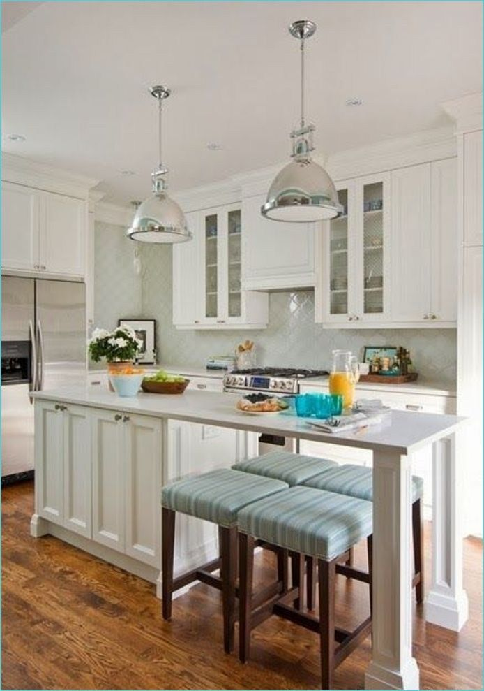 narrow kitchen island with seating 5 #islandkitchenideas