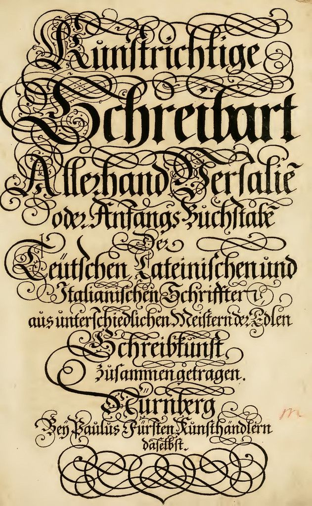 Ornate Lettering Calligraphy, Fonts and Flourish - new friendly letter format in german