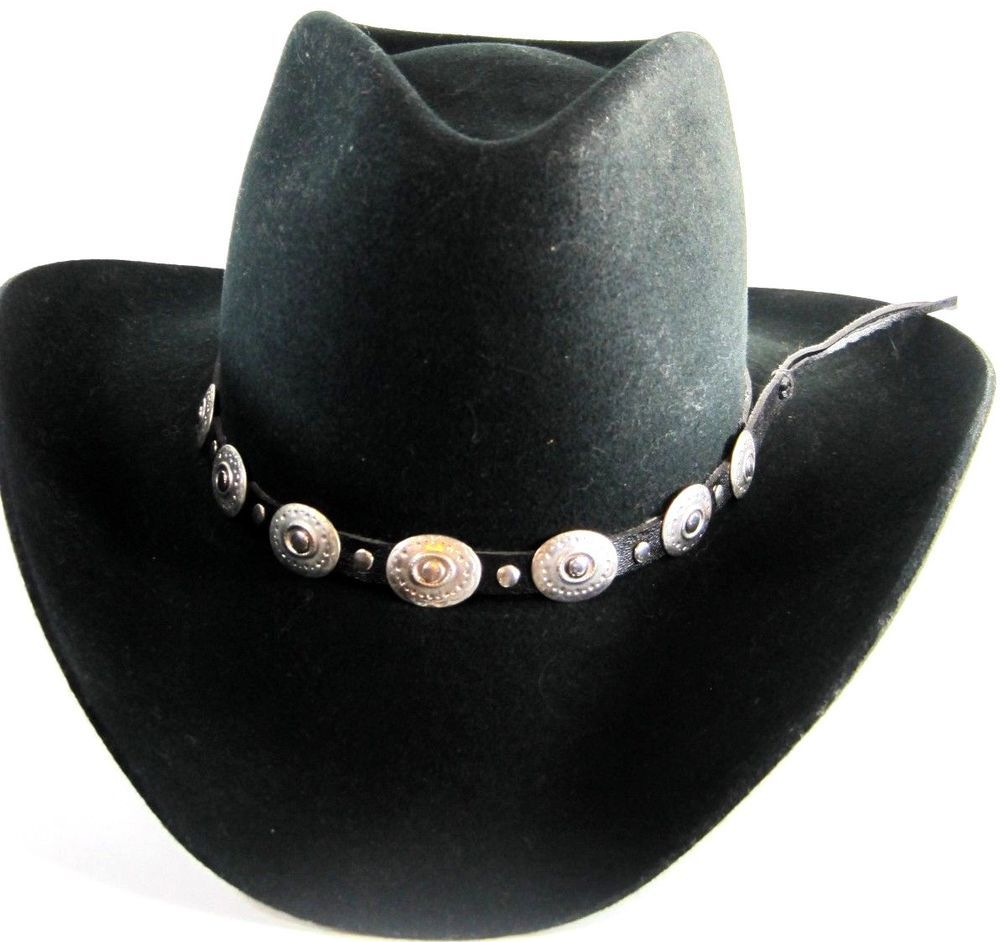 Stetson Pony Express Men Western Cowboy Hat Size XL Black.  Stetson   CowboyHat 38669508156