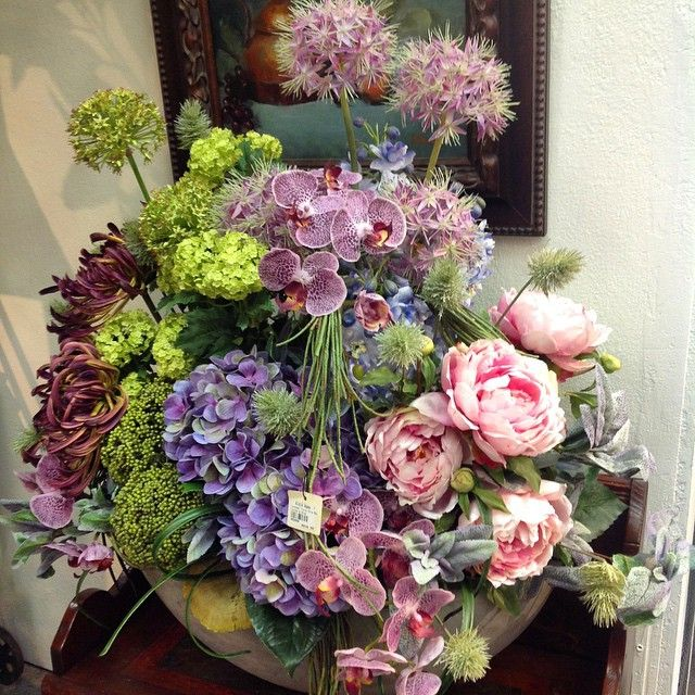Silk floral arrangements los angeles showroom aldik home aldik silk floral arrangements los angeles showroom aldik home mightylinksfo