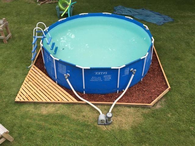 Attractive Landscaping Around Above Ground Pool 33 Backyard Pool Landscaping Above Ground Pool Landscaping Backyard Pool