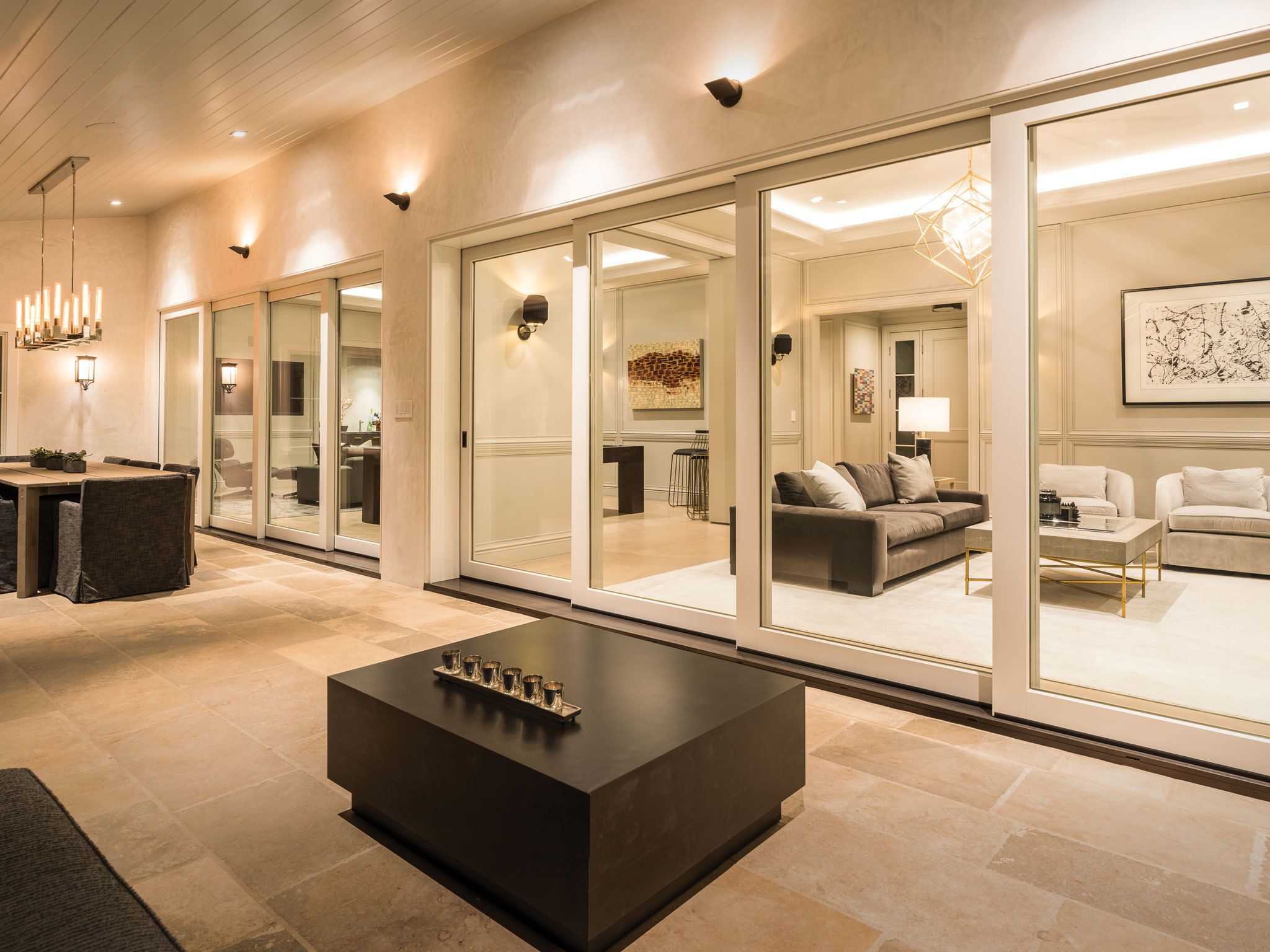 Photo 3 Of 4 In A Los Angeles Renovation Opens Up To Coastal Climes Contemporary Windows Doors Contemporary Windows House Design