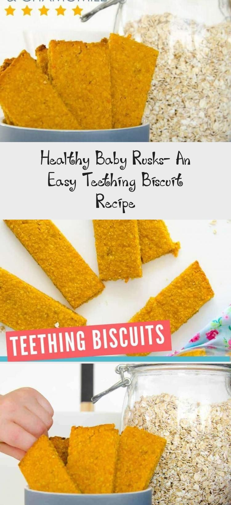 Healthy Baby Rusks An Easy Teething Biscuit Recipe Biscuit Recipe Homemade Baby Foods Teething Biscuits