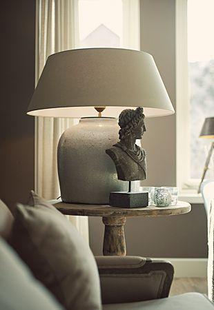 Lamp Landelijk Tafellamp Verlichting Decoratie Deco Meubelenlarridon Diy Decoratie Woonkamer Interieur Woonkamer Decoratie