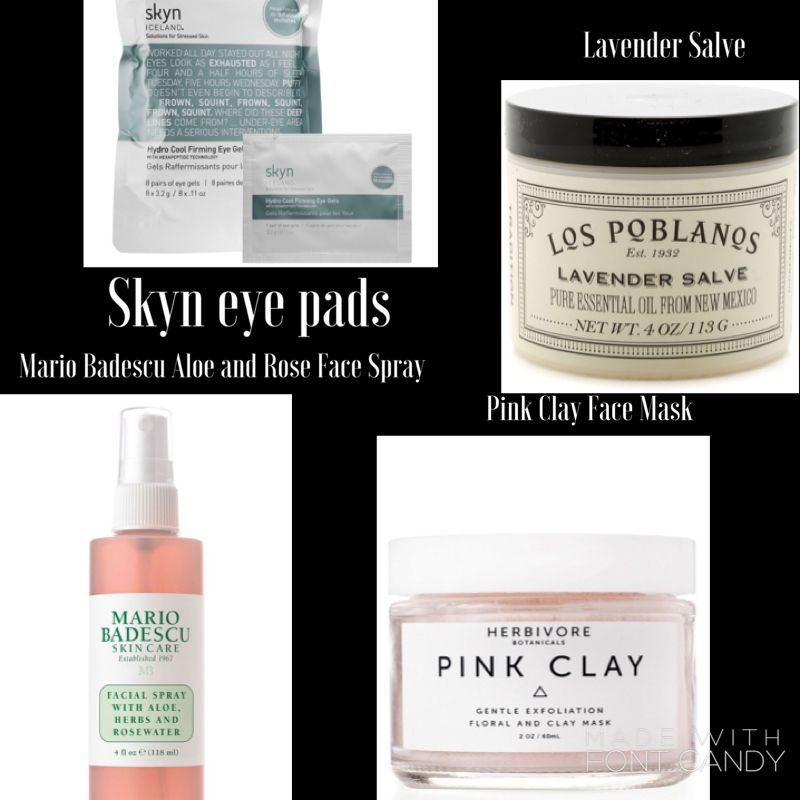 These are my lifesavers every winter! These help my skin stay soft and hydrated. Look below for links to each item to learn more.Skyn eye…