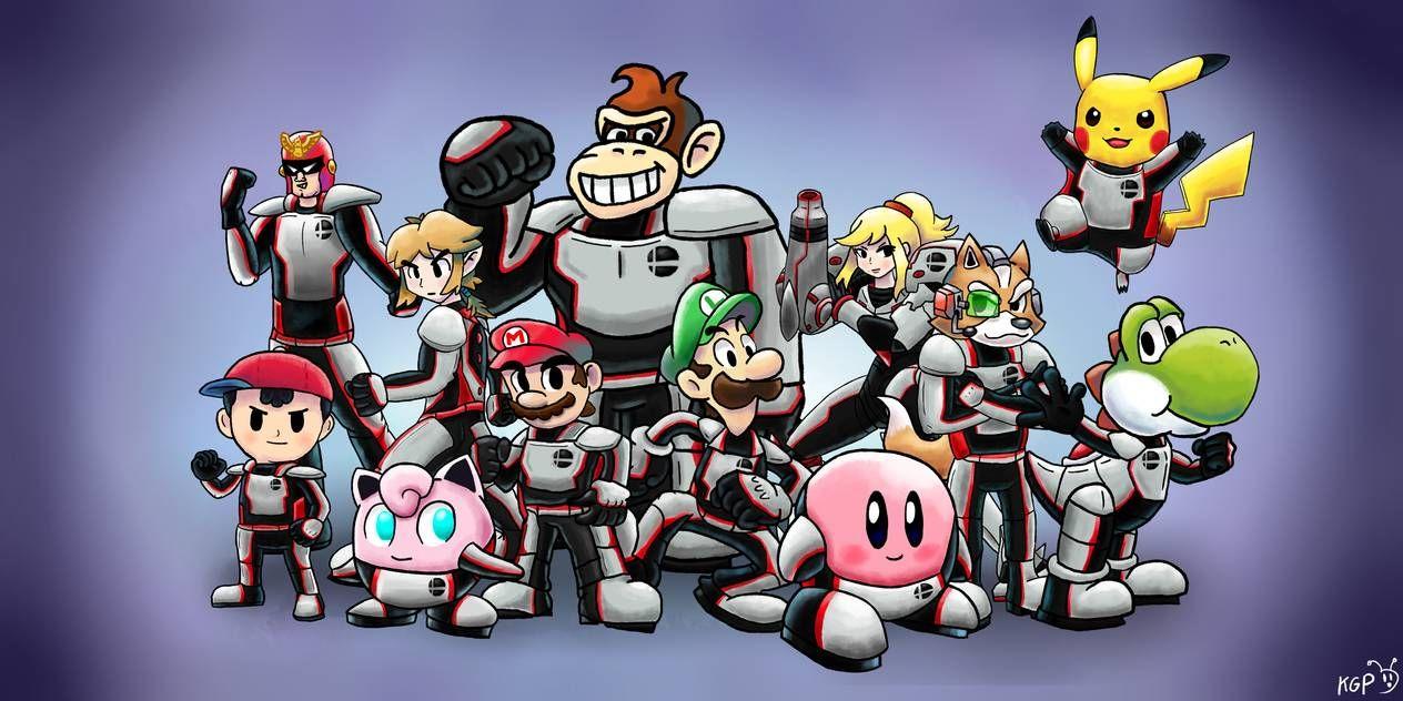 Smash Bros Assemble The Original Twelves By Https Www Deviantart Com Krazy Gamer Play On Deviantart Smash Bros Super Smash Bros Super Smash Ultimate