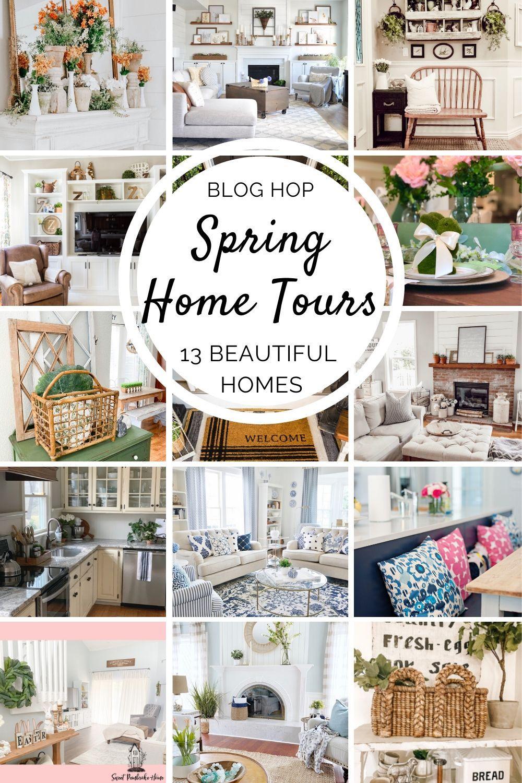 Spring Home Tour 2020 Spring Home Decor Spring Home Home Decor