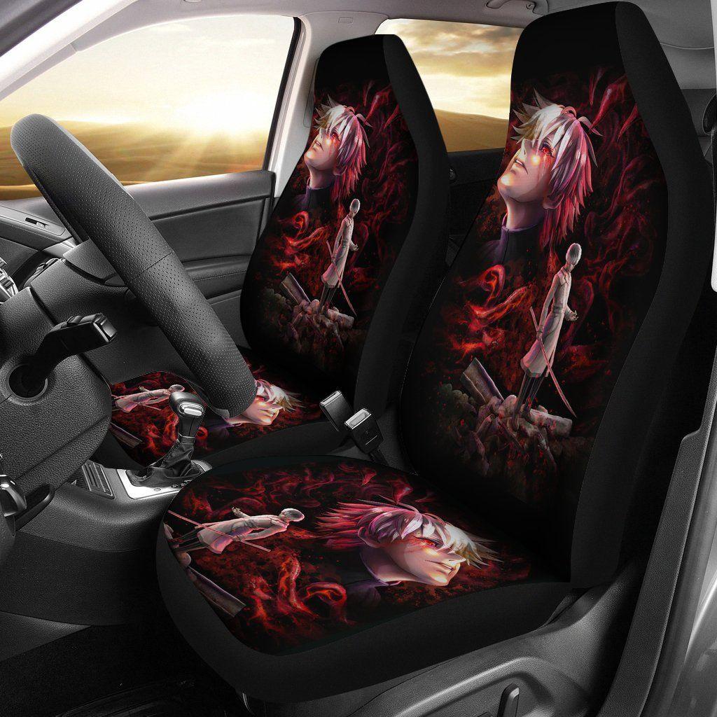 Photo of Tokyo Ghoul Car Seat Cover Kaneki Ken And Hideyoshi Nagachika Anime Gift For Fans