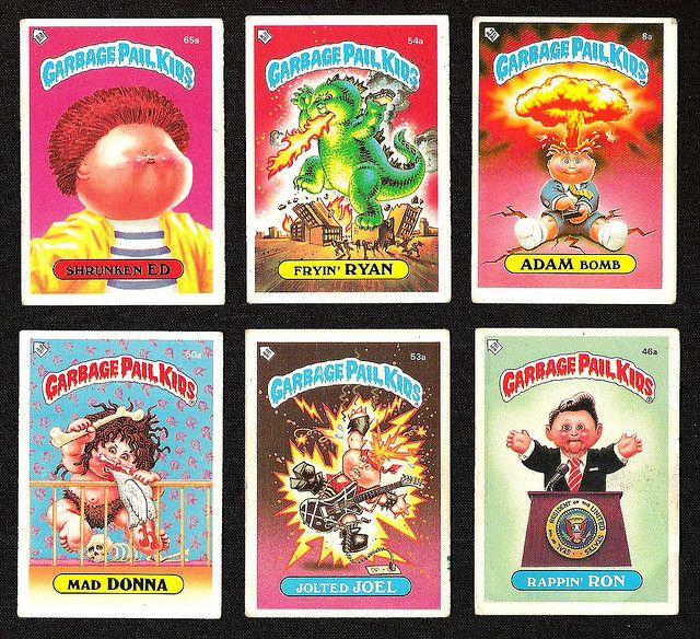Garbage Pail Kids Garbage Pail Kids My Childhood Memories Garbage Pail Kids Cards