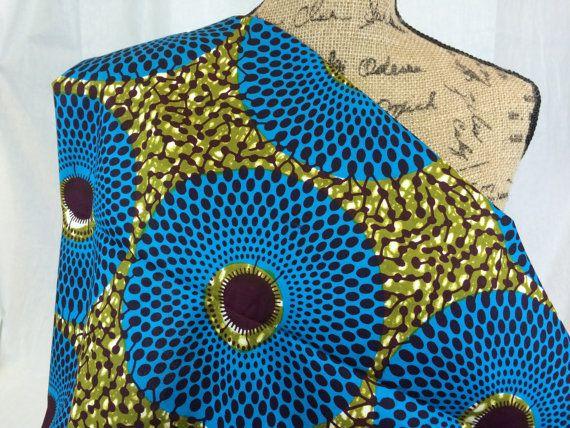 Congolese Fabric--African Wax Print Fabric--Ankara Fabric ...
