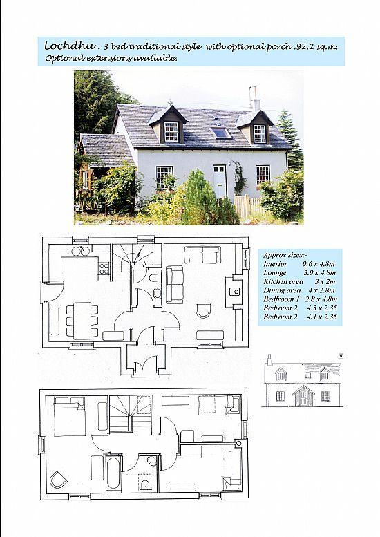 Lochdhu Cottages Ltd Self Build Kits For Scotland Self Build Houses Cottage Building A House