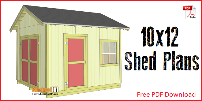 Elegant 12x16 Shed Plans   Gable Design | Roof Plan, Shopping Lists And Cuttings