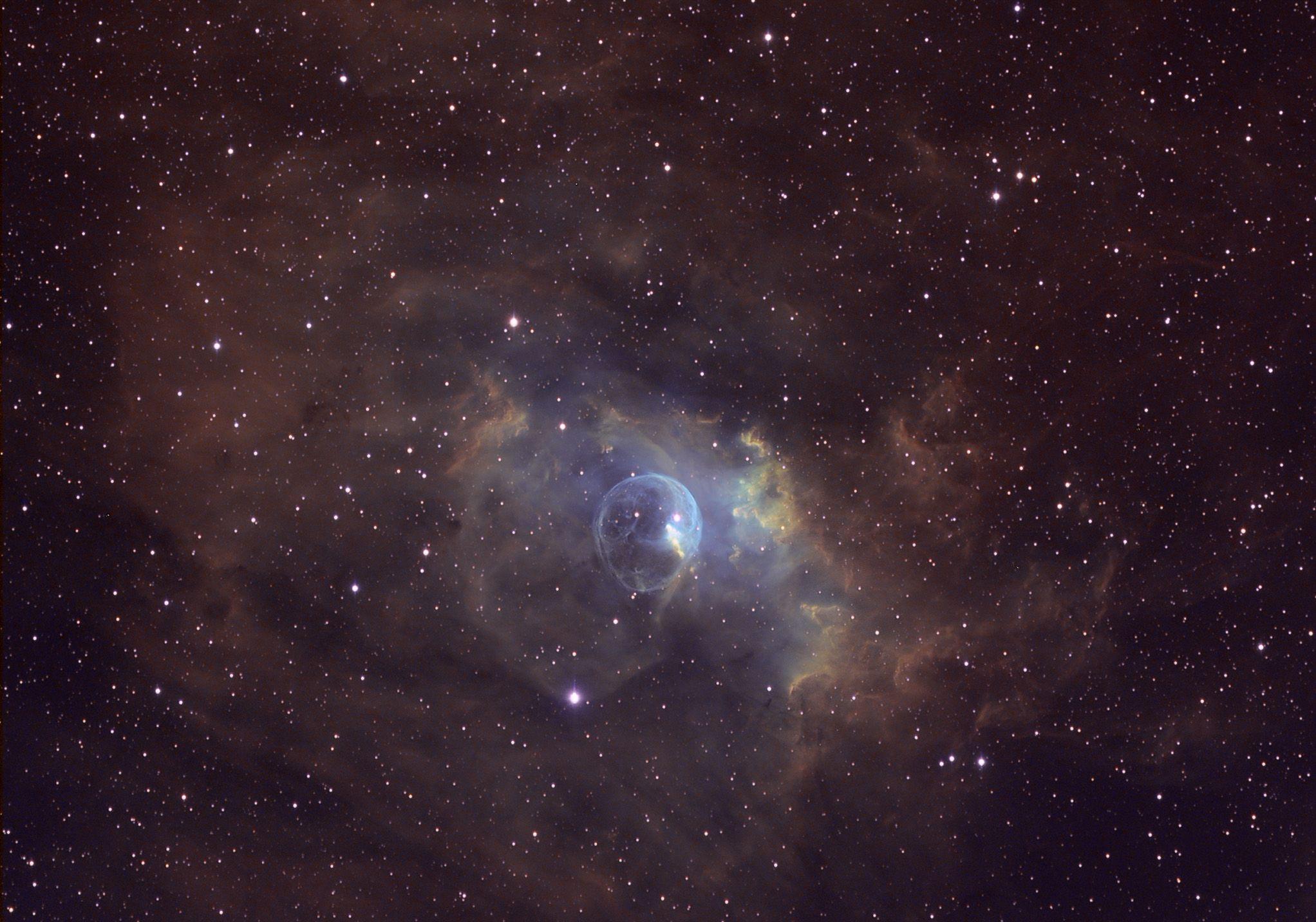 NGC 7635 – The Bubble Nebula | Nebula, Outer space, Deep space