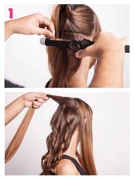 Ondas al agua: tutorial paso a paso  – Peinados
