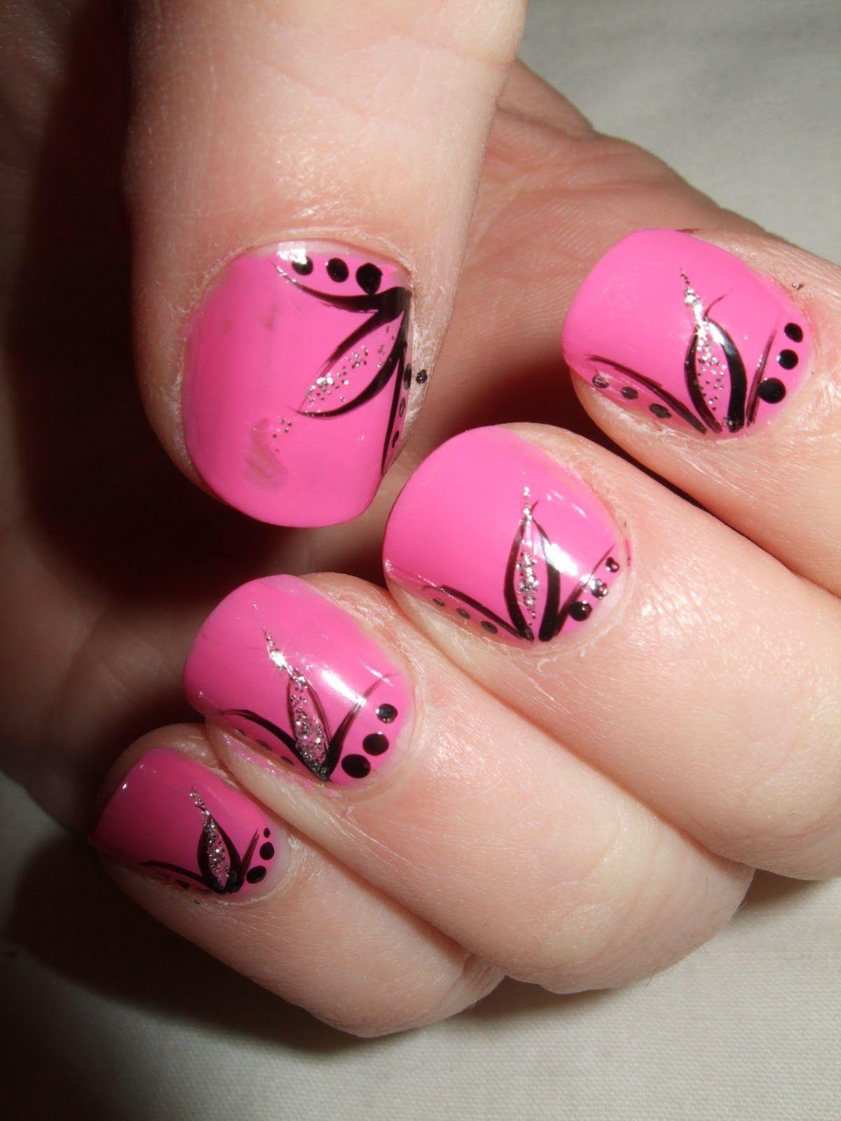 2014 Easy Nail Painting Ideas & Tips | Nail Design Ideas | Pinterest ...