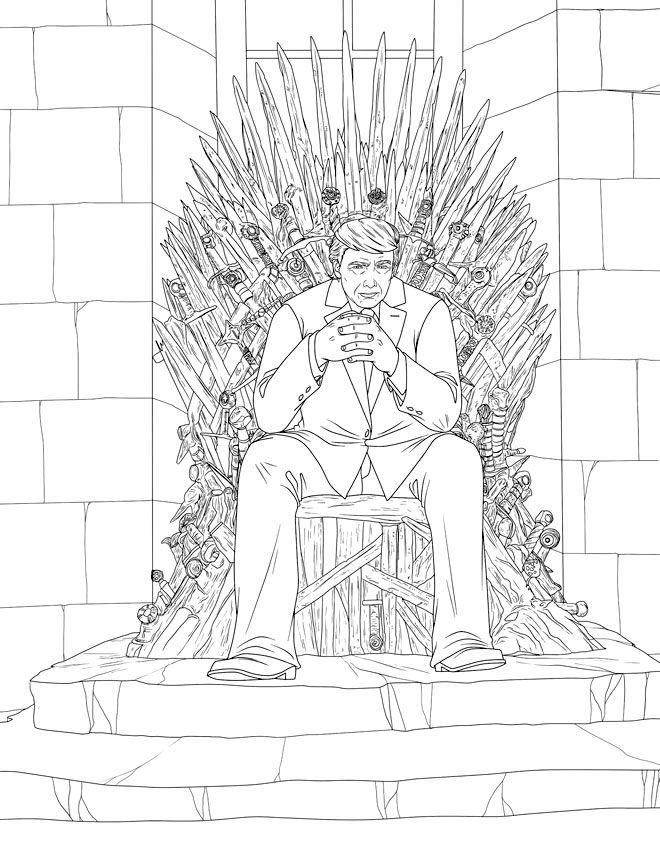 Iron Throne Trump