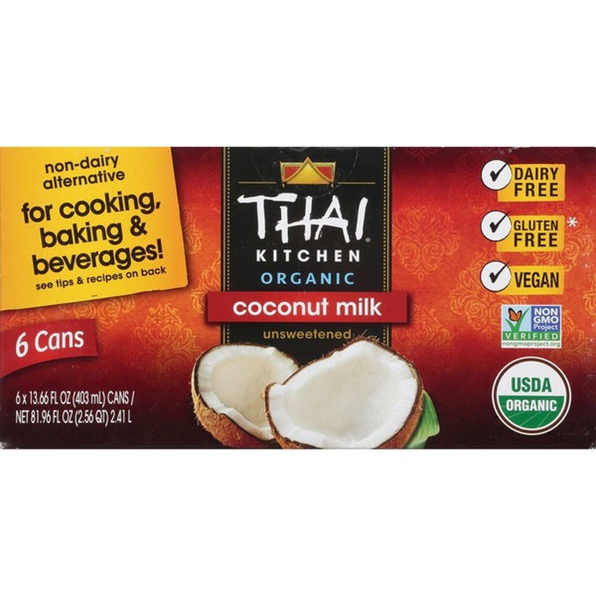 Thai Kitchen Thai Kitchen Organic Coconut Milk 6 X 13 66 Fl Oz